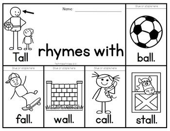 "ild"" and ""old"" Word Family Packet 