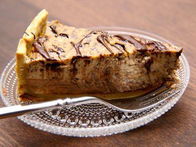 Deze koffietaart zal een feest zijn voor iedere koffie liefhebber, werkelijk een overheerlijke taart.Naast koffie zit er ook ricotta in. Ricotta is een witte Italiaanse kaas met een laag vetgehalte, heeft een licht zoete smaak en is gemaakt van koe of schapenmelk. __