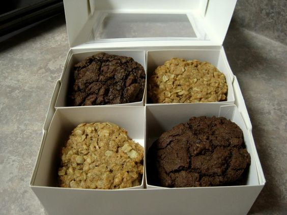 Kiersten's Awesome vegan cookies. I love Novel Sweets and I'm not even vegan!!!!