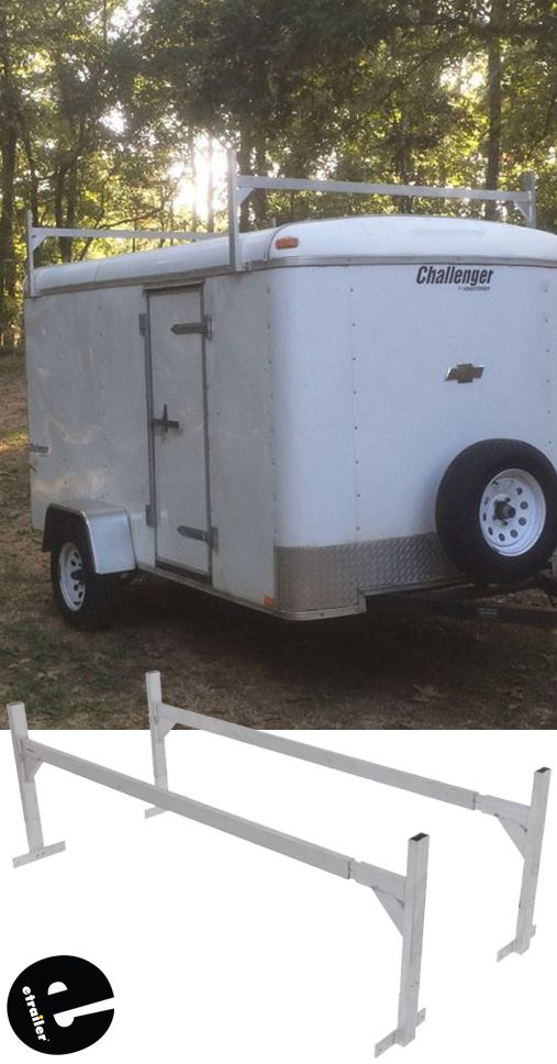 Rack Em Fitz All Enclosed Trailer Ladder Rack Rackem Trailer Cargo