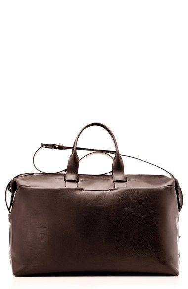 Troubadour Leather Duffel Bag