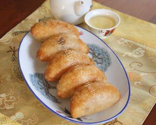My Kitchen Snippets: Ham Sui Kok/Fried Crescent Dumplings