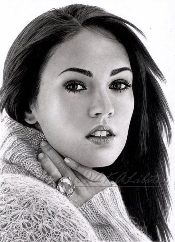 My favourite Megan Fox drawing follow me for more celebes art.