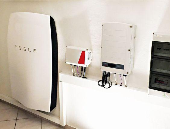 Tesla Powerwall installed by Praml in Germany
