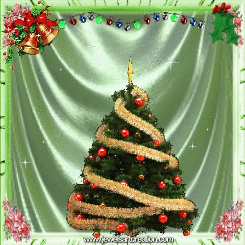 Wonderful CHRISTMAS TREE ANIMATION Free To Use Please Leave My Website Name On This.  You Can Save For Your Own Use You Can Share Using FB .