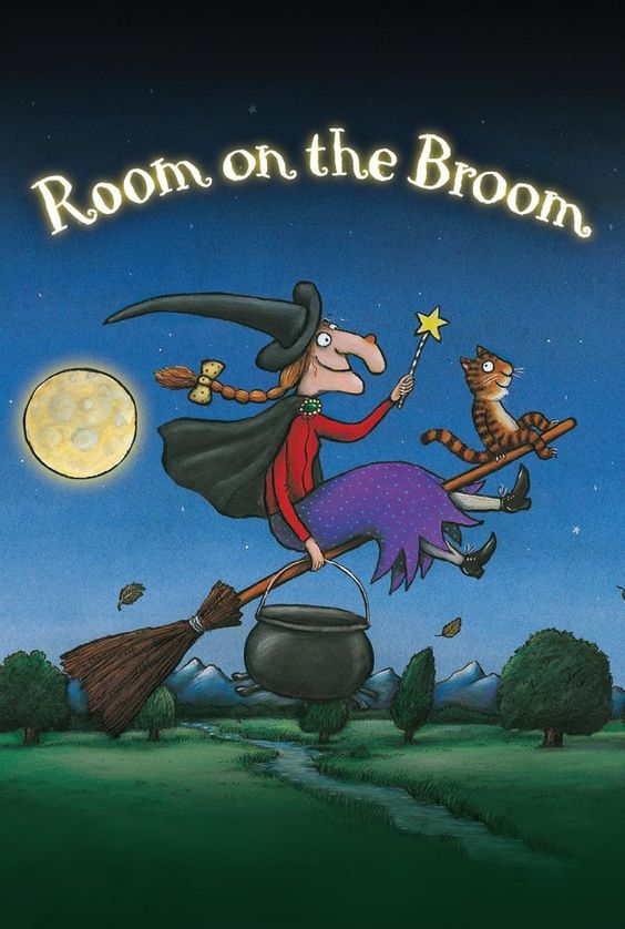 Best Short Film, Animated Nominee Room on the Broom Max Lang and Jan Lachauer