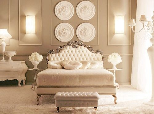 Neutral Classy Bedroom Home Interior Decor Pinterest Beautiful Baroque And Neutral Bedrooms