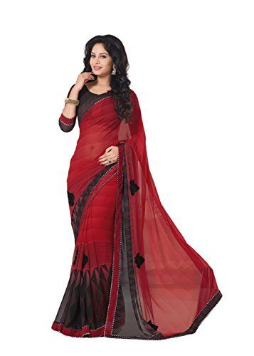Palav Women's Palav Sarees Georgette Embroidered Redblack... https://smile.amazon.com/dp/B01E4CCE0S/ref=cm_sw_r_pi_dp_x_2pBWyb0TZ5YRA