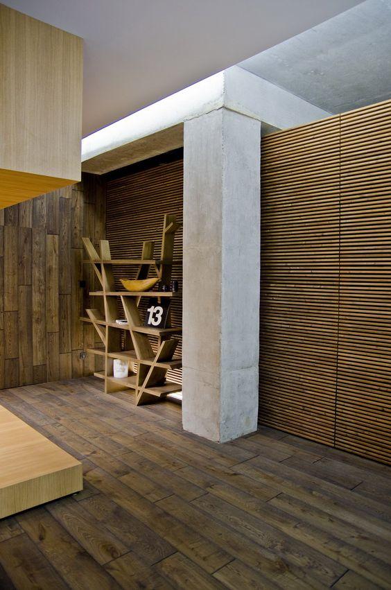 Slava Balbek 2B Group Loft Apartment : Interior wooden floors and ...
