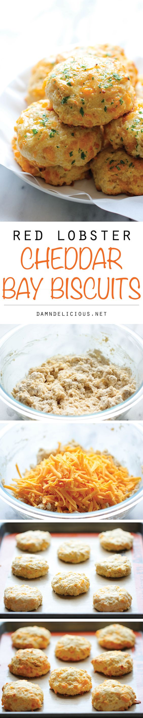 Red Lobster Cheddar Bay Biscuits—So excited to make these tasty biscuits at home!