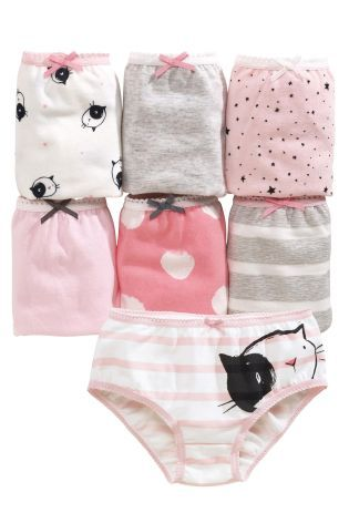 Buy Seven Pack Cat Briefs (18mths-12yrs) from the Next UK online shop
