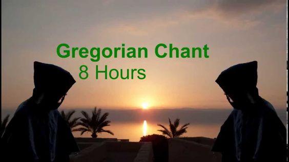 Gregorian Chant: 8 Hours!