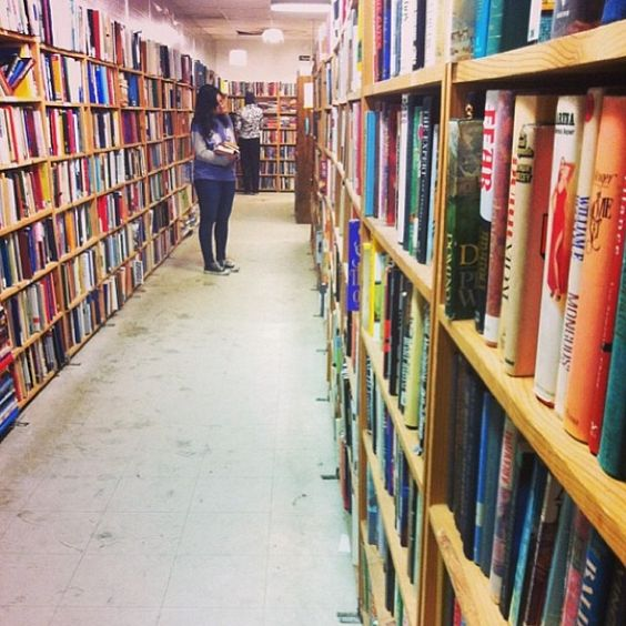 Thousands of free books available at the Book Thing! Thanks to @Bailey Francine O'Malia for the photo!