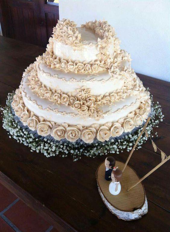El mejor pastel de bodas