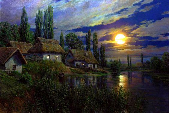 Andrew  Ogurtsov  — Full Moon in Ukraine  (1000x667):