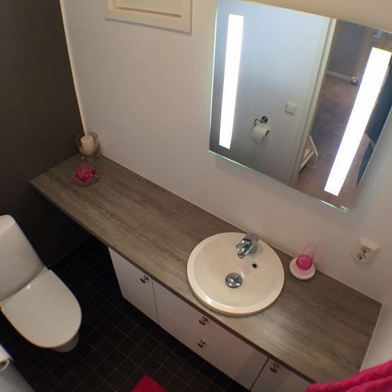 Puustelli toilet / wc / toalett | Kylpyhuone / badrum / bathroom ...