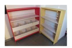Bibliothèques en bois de palette / Pallet Bookshelves