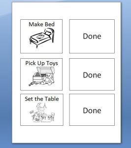 Free chore chart printable. Plus includes 30+ chore ideas for kids ages 2-8