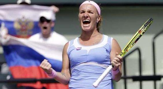 Miami Open: Kuznetsova vence Bacsinszky e regressa à Final 10 anos depois
