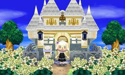 Fanciest Home Exterior The Bell Tree Animal Crossing Forums