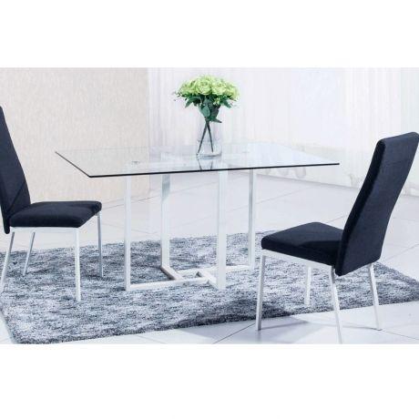 Mesa de comedor Verona, color blanco · 157€