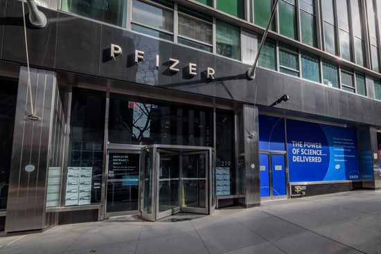 Pfizer Pharmaceuticals World Headquarters In New York City World New York City York City