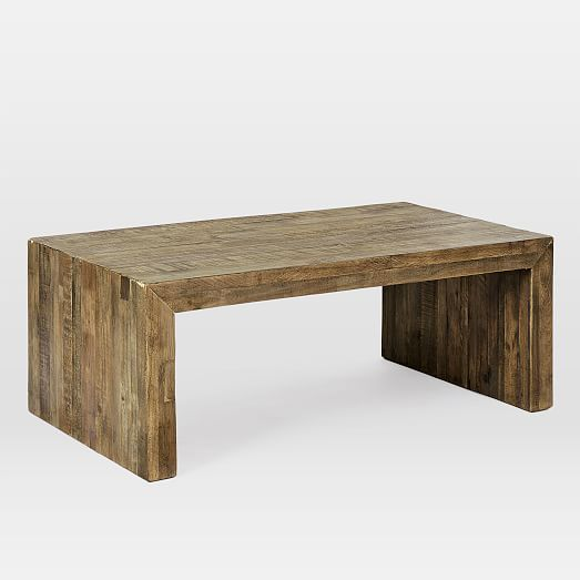 Emmerson Reclaimed Wood Coffee Table Stone Gray Coffee Table Wood Reclaimed Wood Coffee Table Coffee Table