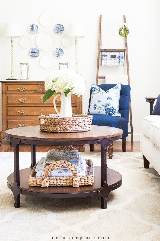 Small Living Room Coffee Tables Simple Round Coffee Table Styling Ideas In 2020 Living Room Furniture Arrangement Living Room Side Table Coffee Table Decor Living Room #round #coffee #table #living #room