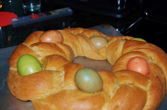 Traditional Braided Sourdough Easter Sweetbread Sweet Bread Easter Recipes Food