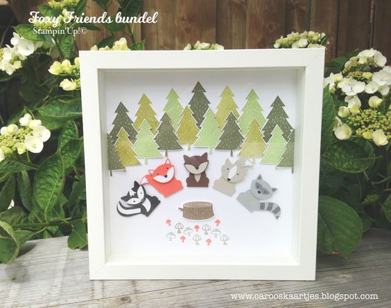 Caro's Cards - for Stampin 'Up! inspiration and ordering Stampin 'Up! Products: Hello Stampin 'Up! Annual Catalogue 2016-2017 Blog Hop Part 4 - Foxy Friends
