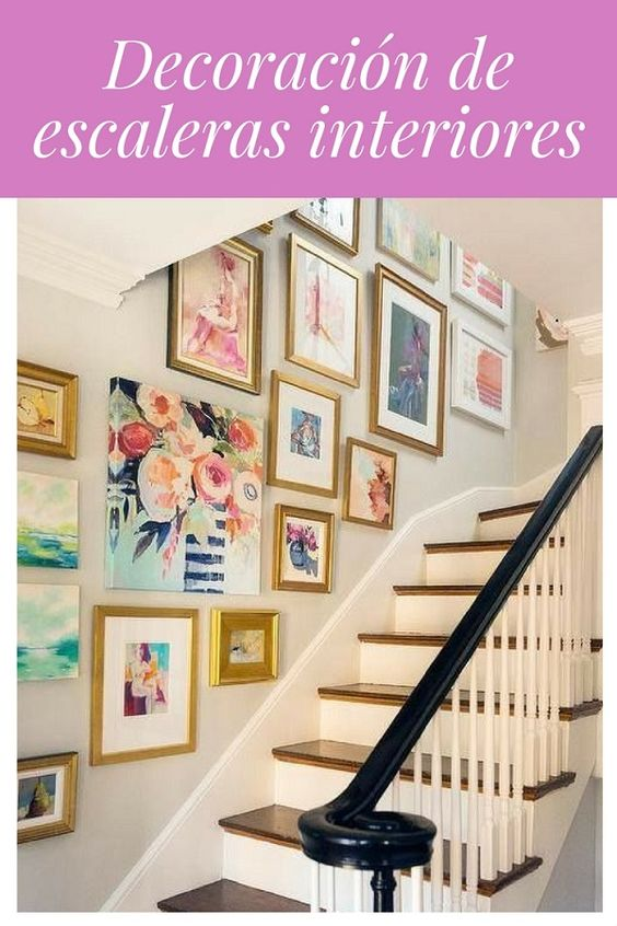 Decoración de escaleras interiores - Pinterest