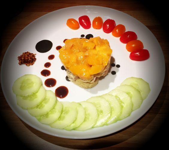 Filetto di tacchino al mango, cotto sottovuoto (ricetta dello chef Montersino)