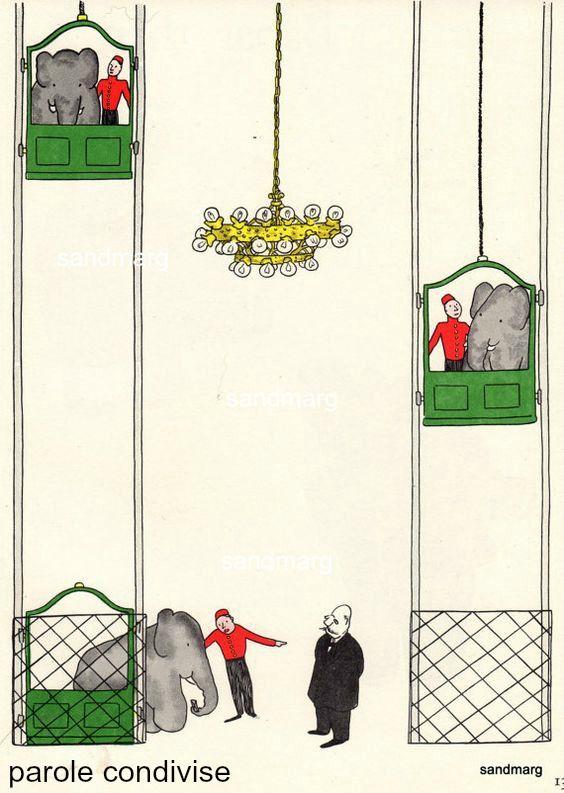 L'unica cosa che va secondo i piani è l'ascensore ... Susanna Casciani.