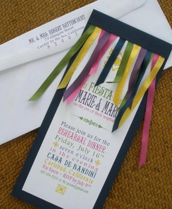 Ribbon invite