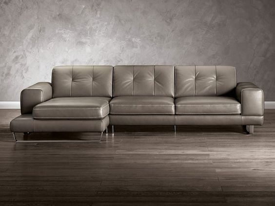Natuzzi Editions B636 Sectional Leather Sectional