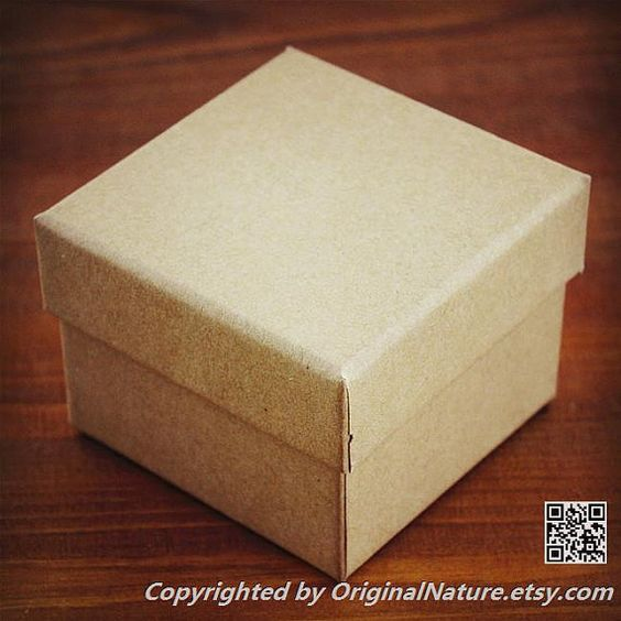 Kraft Watch box Gift box Box For Gift Wrap by OriginalNature