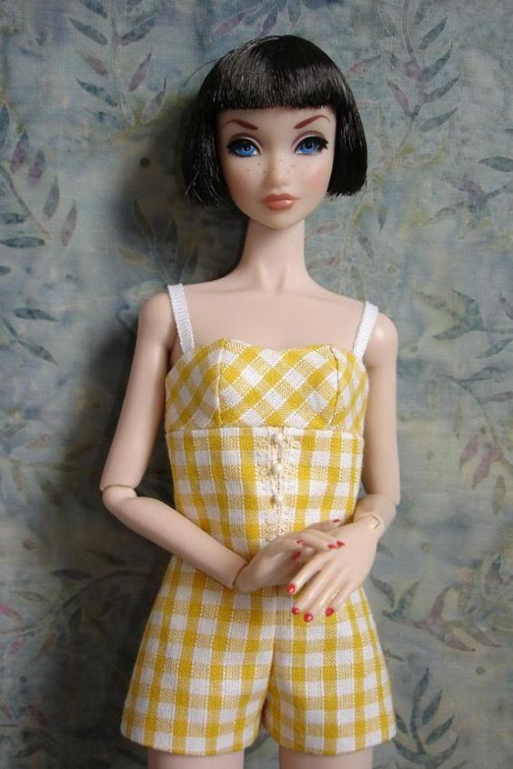 poppy parker dolls for girls | OOAK fashion for Poppy Parker Misaki Nuface dolls by lulumaygang