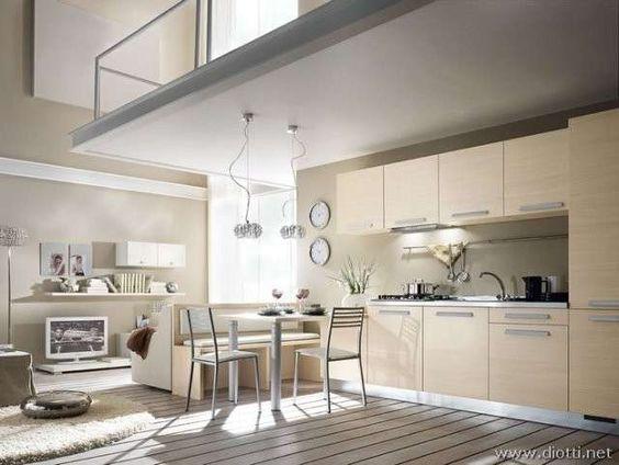 Come arredare una casa piccola - Arredamento chiaro
