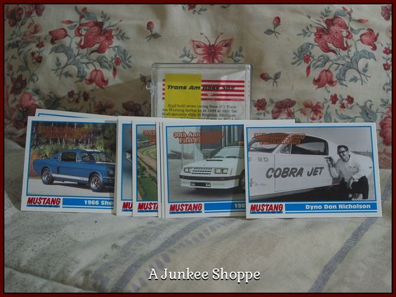 GT MUSTANG 1994 PYQCC 30th Anniversary Of The Ford Pony Car Trading Cards   Junk0871  http://ajunkeeshoppe.blogspot.com/