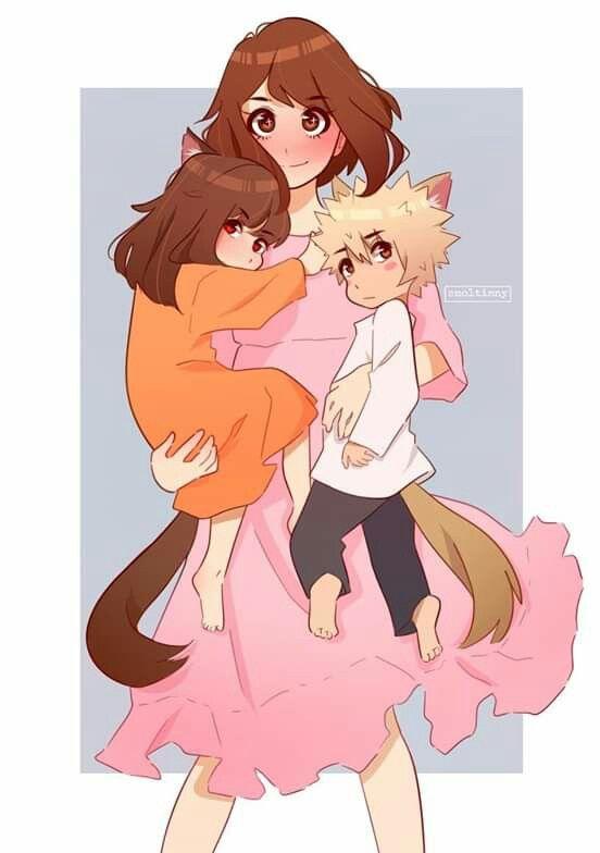 Such A Sweet Kacchako X Wolf Children Au 3 C Smoltinny On