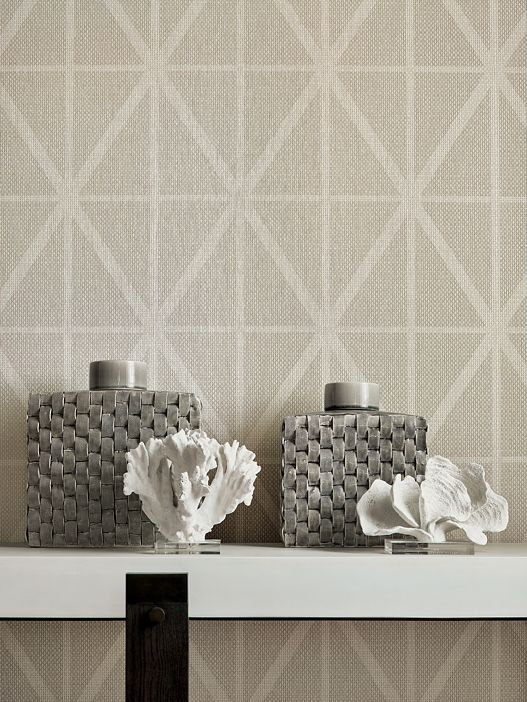 Texture Resource 6 Collection Thibaut Trellis Wallpaper