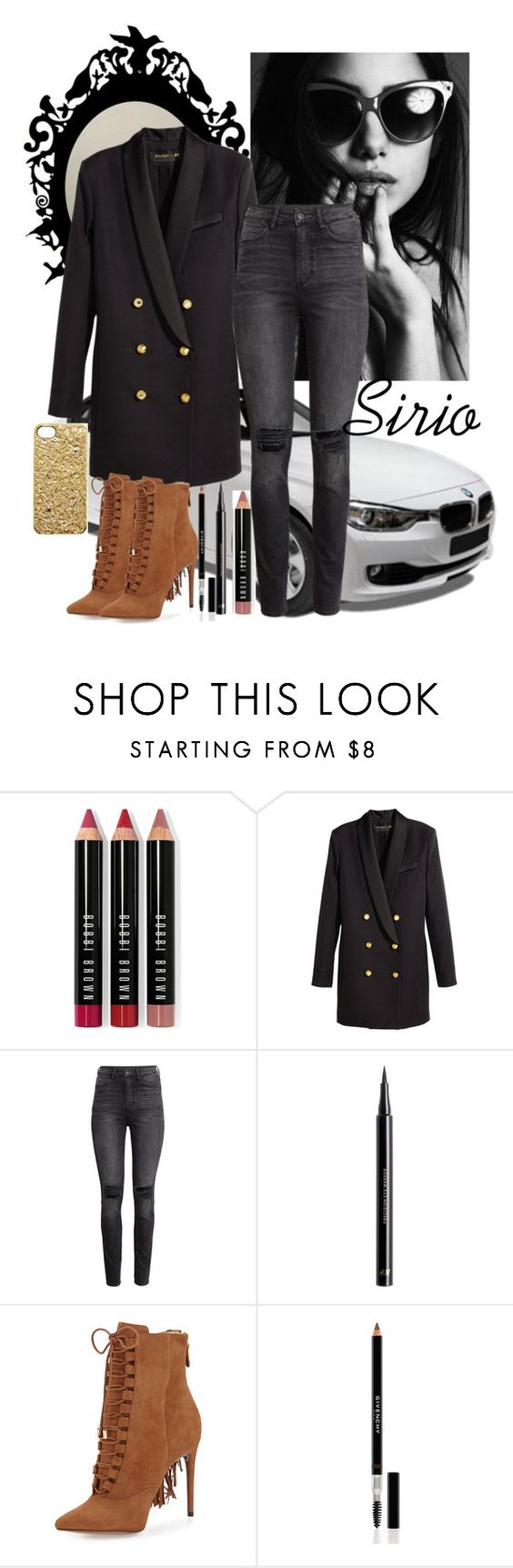 """Sin título #457"" by atmakaur ❤ liked on Polyvore featuring BMW, Bobbi Brown Cosmetics, H&M, Alexandre Birman, Givenchy and Marc by Marc Jacobs"