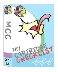 You can find the My Cartridge Checklist APP by Joy's Life in the Android Store for FREE!