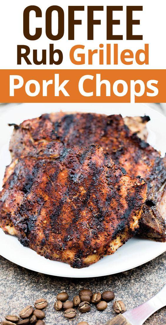 pork chops smoked paprika coffee brown sugar pork chops sugar herbs ...