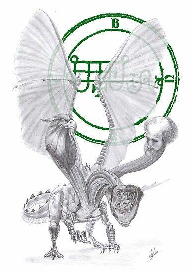 Mito Bune-Christian: um duque do inferno que torna os homens eloquentes e sábios, e dá respostas verdadeiras às suas exigências e também riqueza. Ele fala com uma voz graciosa alta. Ele pode ressuscitar os mortos para fazer o seu lance. Ele é descrito como um dragão de três cabeças, suas cabeças sendo de um grifo, um cachorro e um homem.