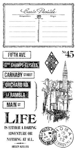 Cityscapes 3 Cling Stamps by Graphic 45