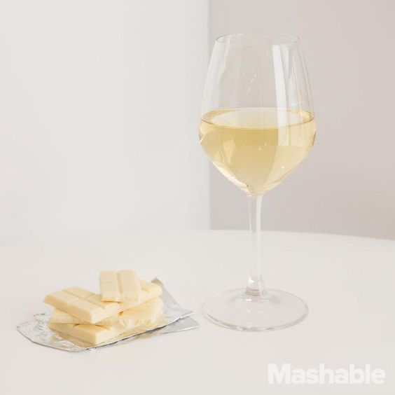 Uber-creamy white chocolate plays well with Canadian Icewine.