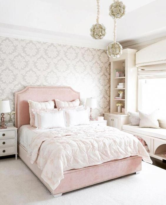 Pink Bedroom Idea Decor Decoration Bedroom For Girl Bedroom For