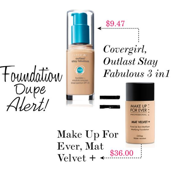 """Foundation Dupe Alert!!!"" by sweetlikecandycane on Polyvore"
