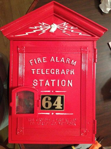 Gamewell fire alarm box